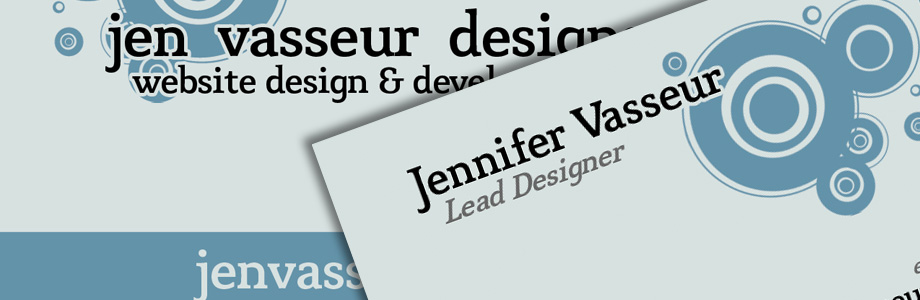 Jen Vasseur Designs Website Design Development Cms